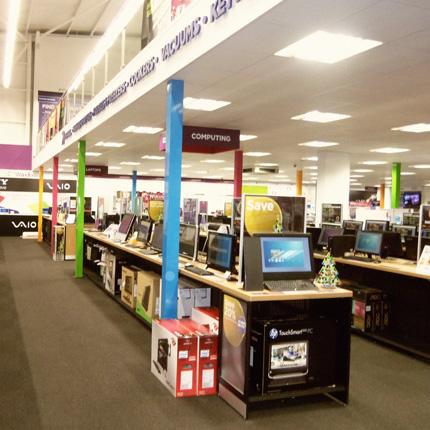 Hi-Store's mezzanine solutions extend to Dixons Retail / Hi